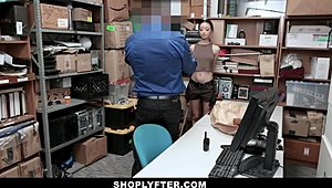 ShopLyfter - hot sable minor fucked By Security Guard