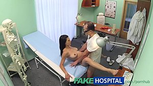 FakeHospital Doctor convinces patient to have office sexual intercourse