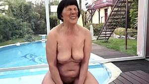 Very curious and evil grandma screwed XXX Clips