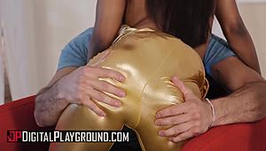Digital Playground - Damon Dice Sarah Banks - charmed Twerk